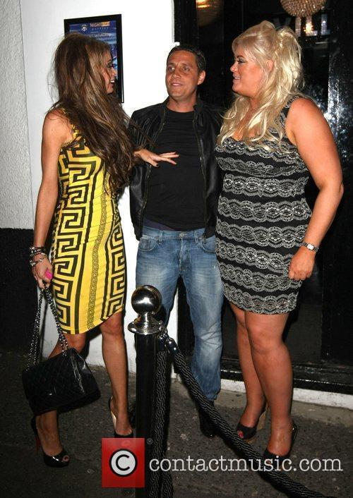 Adam Brooks, Chloe Sims and Gemma Collins 2