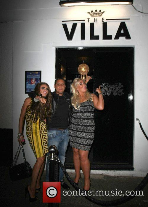 Adam Brooks, Chloe Sims and Gemma Collins 4
