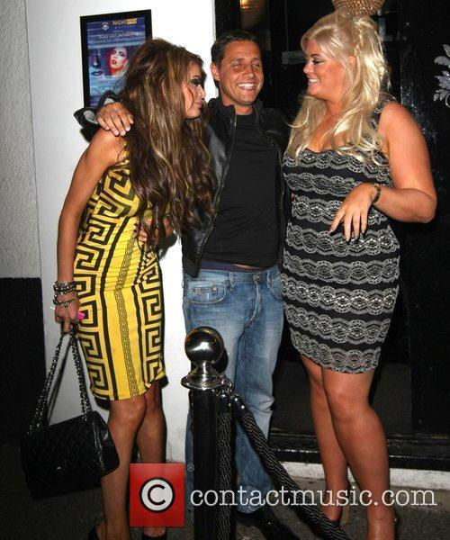 Adam Brooks, Chloe Sims and Gemma Collins 6