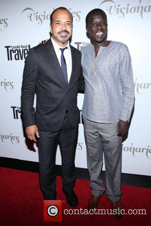 Okello Sam and Jeffrey Wright