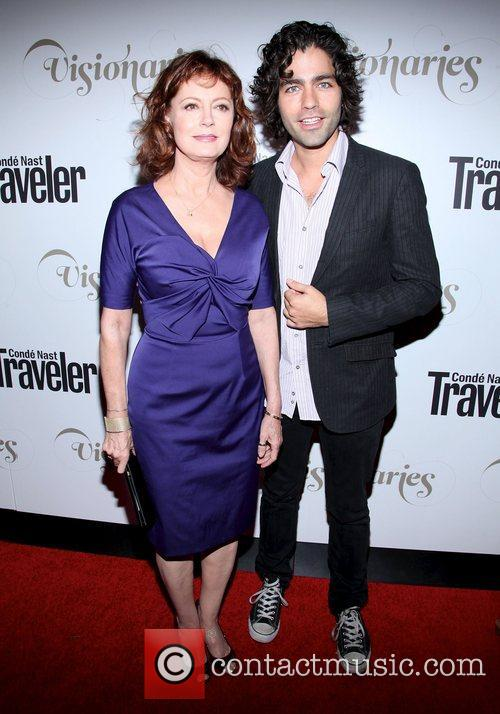 Susan Sarandon and Adrian Grenier 2