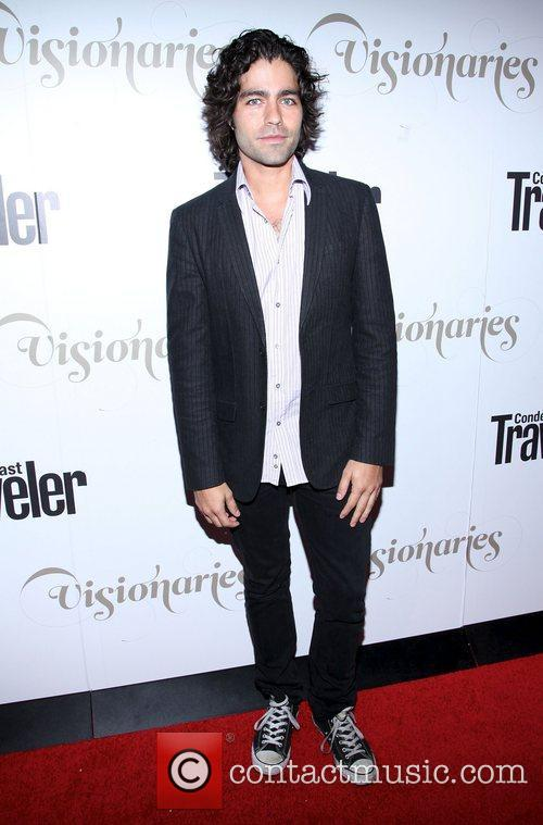 Adrian Grenier ,  at the Conde Nast...