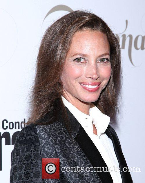 Christy Turlington ,  at the Conde Nast...
