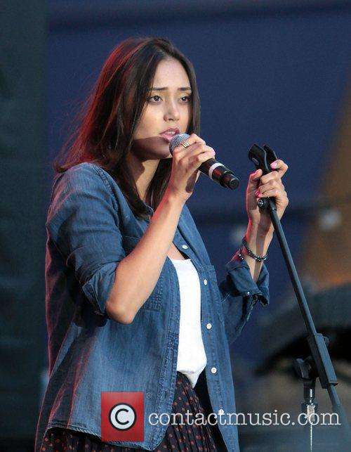 Dia Frampton Contestants from The Voice perform at...