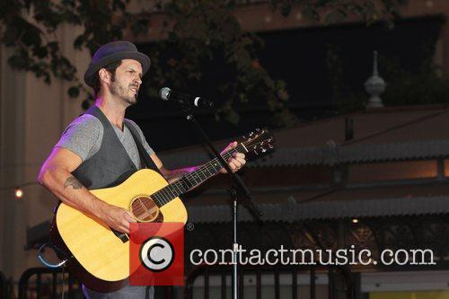 Tony Lucca Contestants from The Voice perform at...