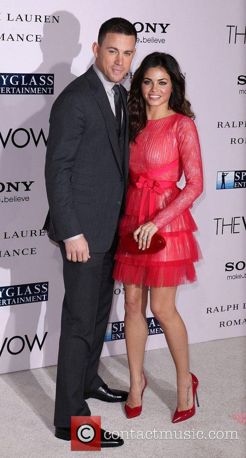 Channing Tatum and Jenna Dewan-Tatum 'The Vow' Los...