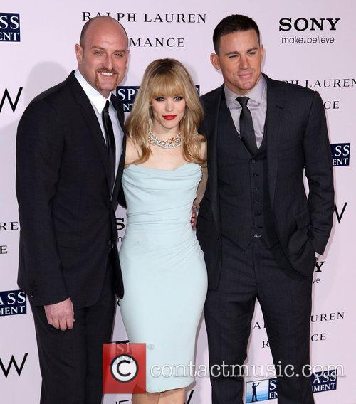 Director Michael Sucsy, Rachel McAdams, and Channing Tatum...