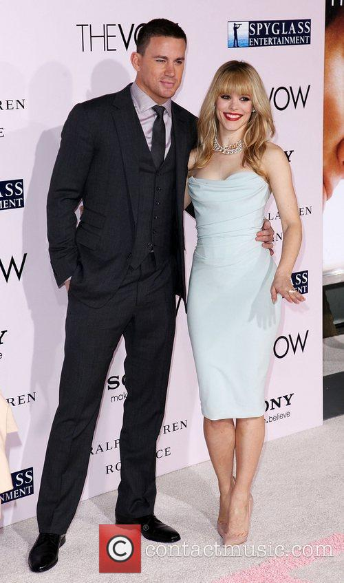 Rachel McAdams and Channing Tatum 'The Vow' Los...