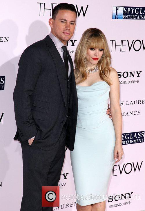 Rachel Mcadams, Channing Tatum and Grauman's Chinese Theatre 6