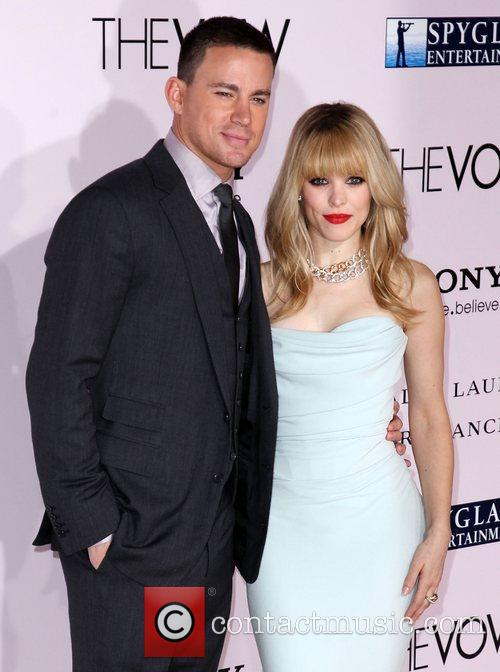 Rachel Mcadams, Channing Tatum and Grauman's Chinese Theatre 8