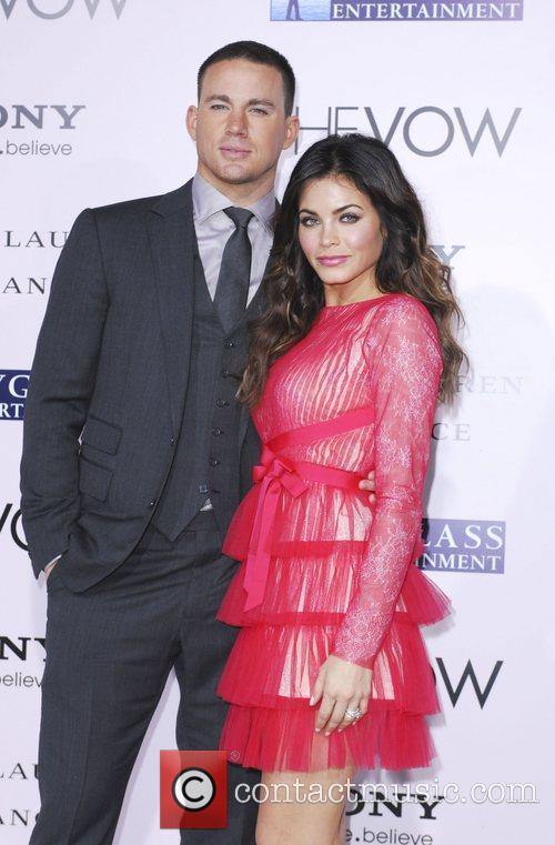 Channing Tatum, Jenna Dewan Tatum  'The Vow'...