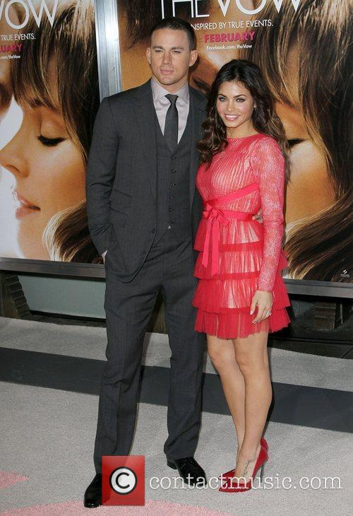 Channing Tatum, Jenna Dewan-Tatum 'The Vow' Los Angeles...