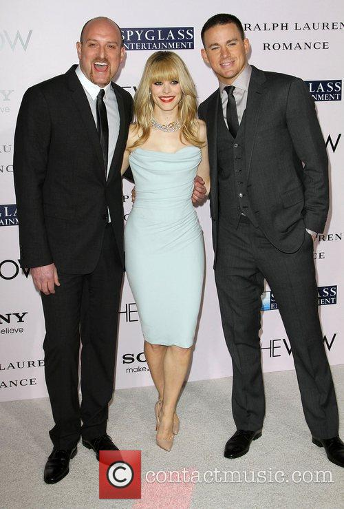 Michael Sucsy, Rachel McAdams, Channing Tatum 'The Vow'...