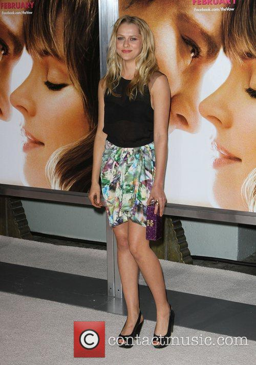 Teresa Palmer 'The Vow' Los Angeles Premiere at...