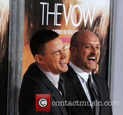 Channing Tatum and director Michael Sucsy 'The Vow'...