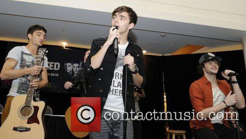 'The Wanted' acoustic performance & autograph session at...