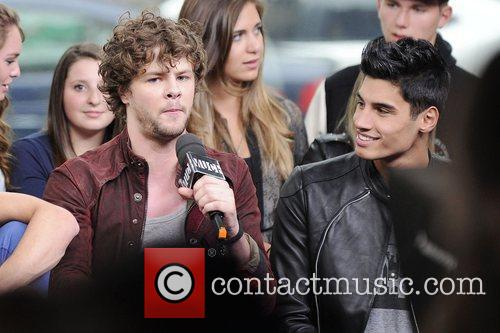 Jay McGuiness and Siva Kaneswaran  'The Wanted'...