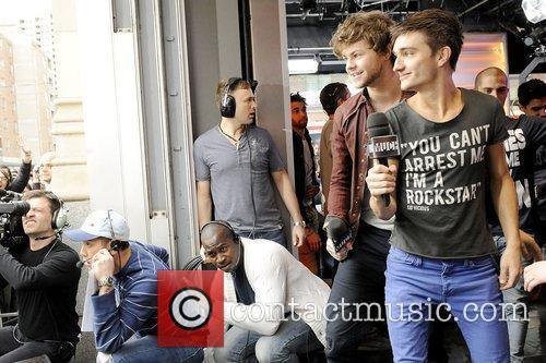 Jay McGuiness and Tom Parker  'The Wanted'...