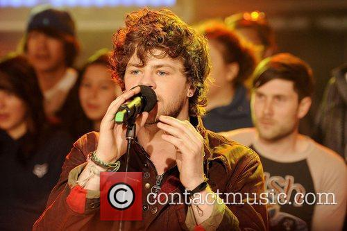 Jay McGuiness  'The Wanted' visits MuchMusic's NEW.MUSIC.LIVE...