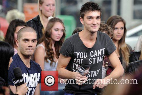 Max George and Tom Parker  'The Wanted'...
