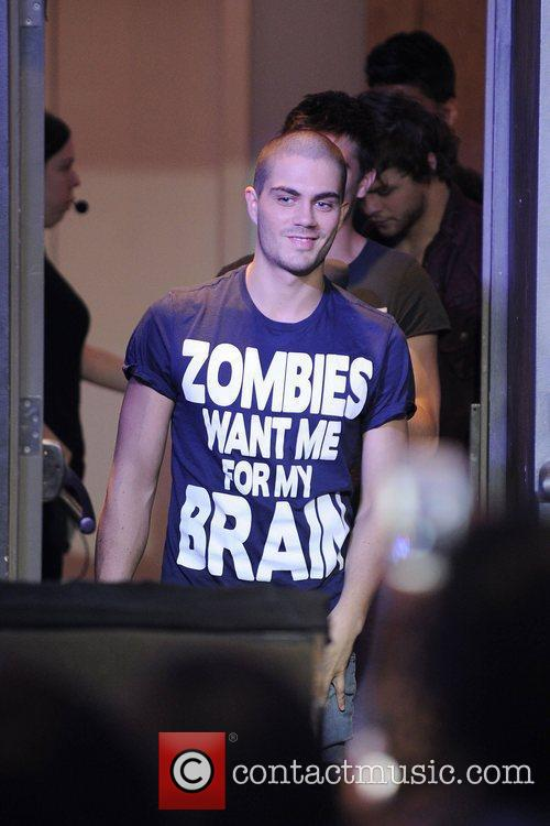 Max George  'The Wanted' visits MuchMusic's NEW.MUSIC.LIVE...