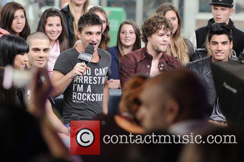 Max George, Tom Parker, Jay McGuiness and Siva...