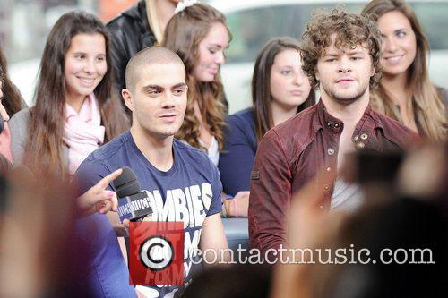 Tom Parker and Jay McGuiness  'The Wanted'...