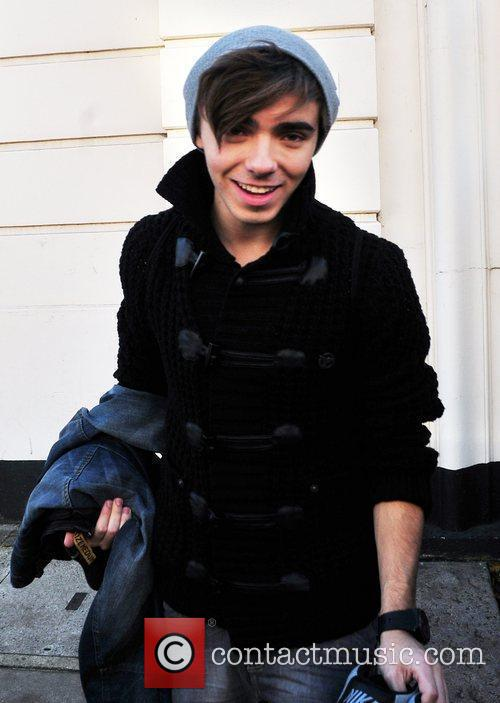 Nathan Sykes of The Wanted  leaving BBC...
