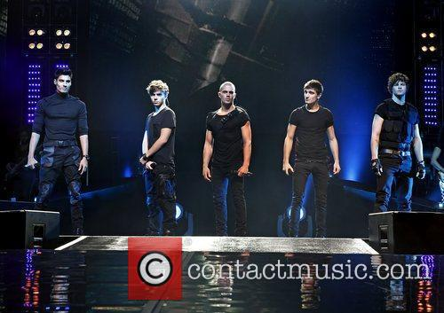 The Wanted perform live at the Liverpool Echo...