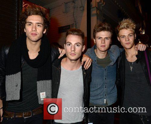 Lawson The Wanted's end of tour party at...