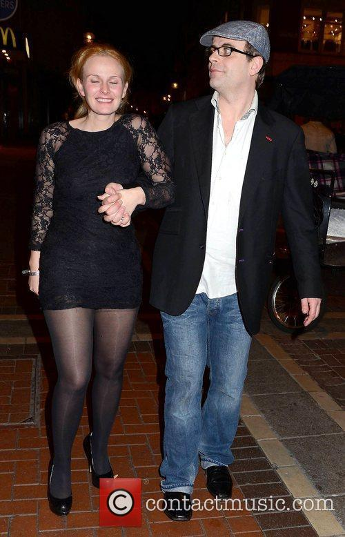 Simon Gregson and Emma Gleave The Wanted's end...