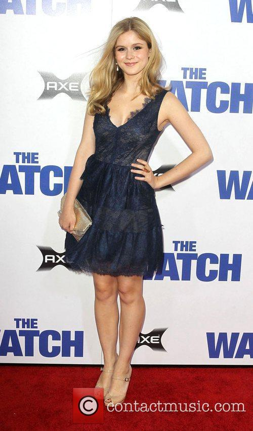 Erin Moriarty Los Angeles premiere of 'The Watch'...