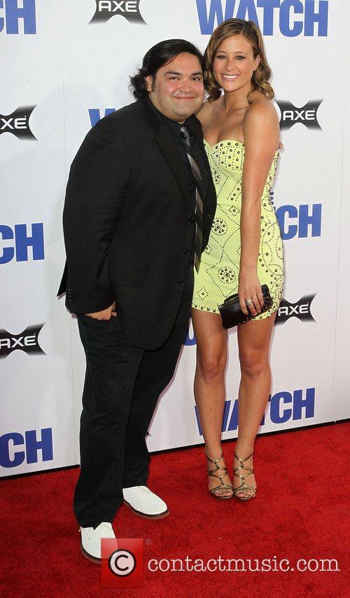 Joe Nunez and Guest Los Angeles premiere of...