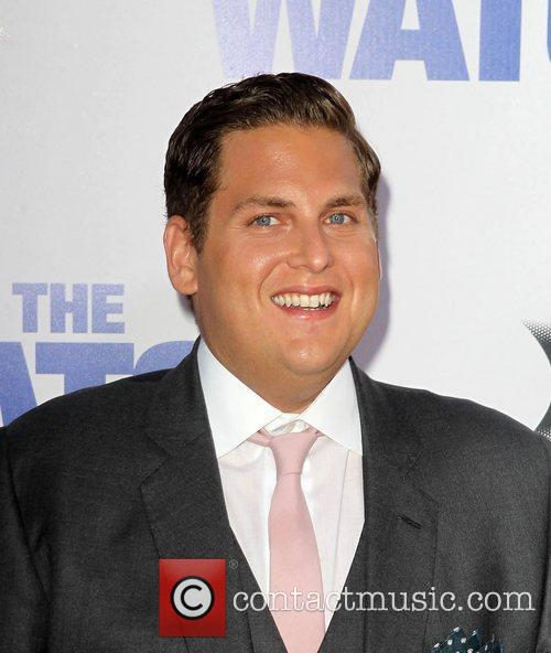 Jonah Hill Los Angeles premiere of 'The Watch'...
