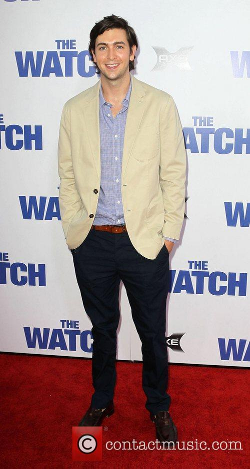 Nicholas Braun Los Angeles premiere of 'The Watch'...