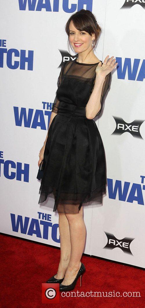 Rosemarie DeWitt Los Angeles premiere of 'The Watch'...