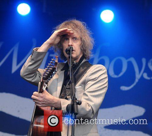 Mike Scott The Waterboys perform live at The...
