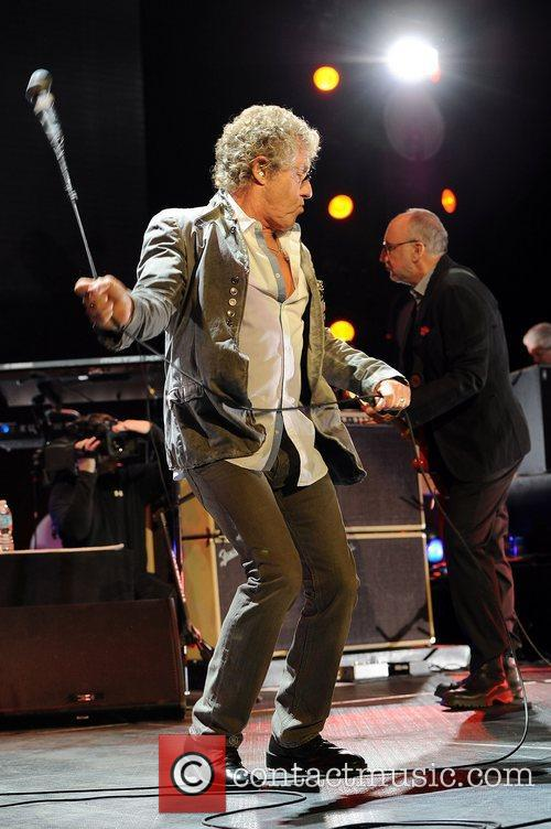 Roger Daltrey The Who performs on opening night...