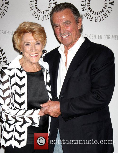 Jeanne Cooper, Eric Braeden and Paley Center for Media 2