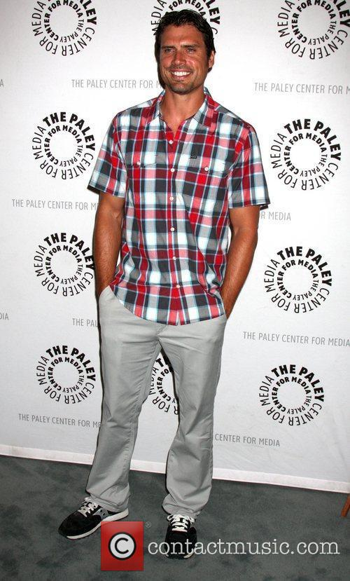 Joshua Morrow  'The Young & Restless' celebrate...