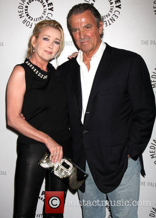 Melody Thomas Scott, Eric Braeden and Paley Center For Media 2