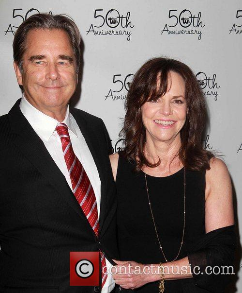 Beau Bridges, Sally Field Celebrities attend Theatre West's...