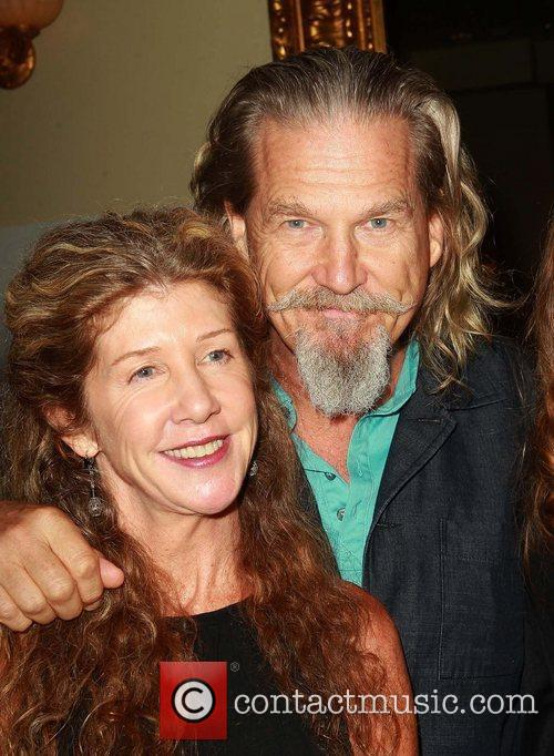 Jeff Bridges, Cindy Bridges Celebrities attend Theatre West's...