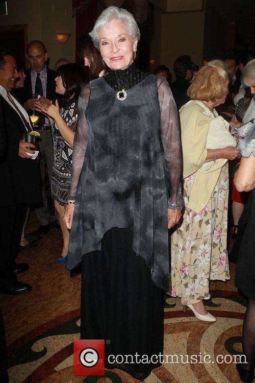 Leslie Aletter Celebrities attend Theatre West's 50th Anniversary...