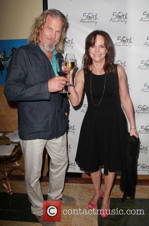 Sally Field, Jeff Bridges Celebrities attend Theatre West's...