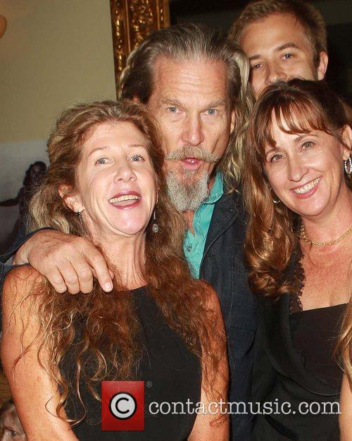 Wendy Treece, Jeff Bridges, Cindy Bridges Celebrities attend...