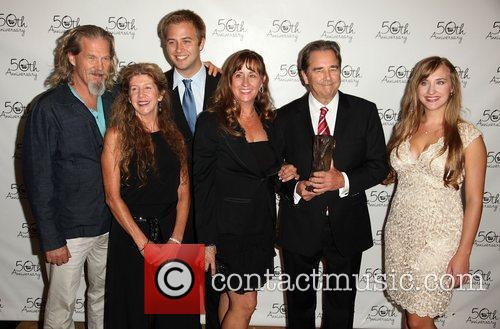 Jeff Bridges, Lucinda Bridges, Dylan Bridges, Wendy Treece,...
