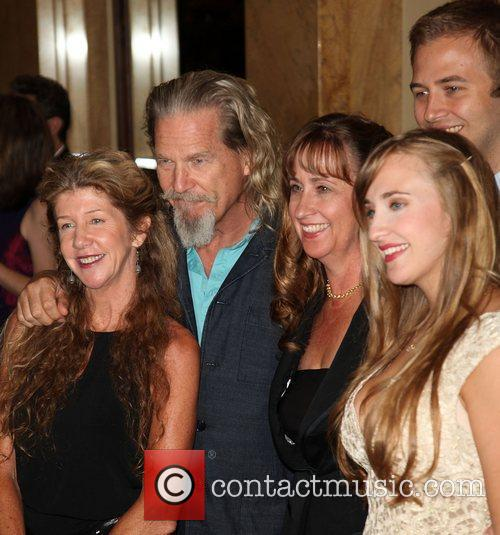 Lucinda Bridges, Jeff Bridges, Wendy Treece, Emily Bridges...