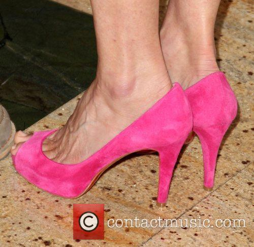 Sally Field (shoe detail) Theatre West 50th Anniversary...