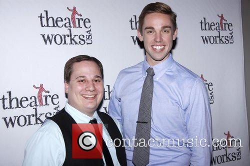 Jared Gertner and Nic Rouleau Theatre Works USA...